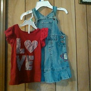 Levi's overall dress
